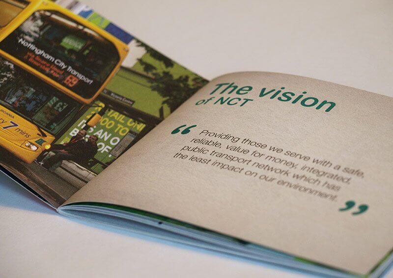 Nottingham City Transport Corporate Values Brochure