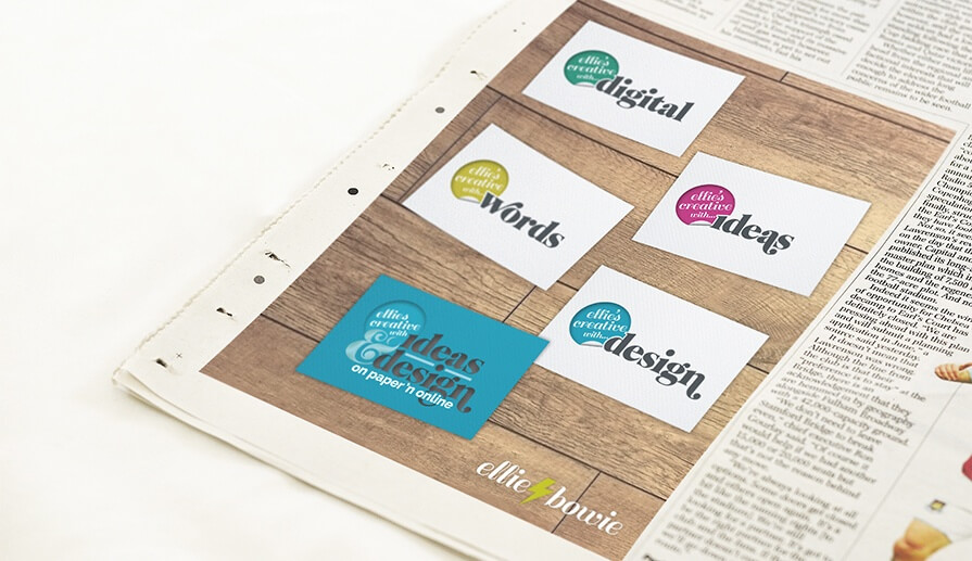 Creative ideas in print: Ellie Bowie Freelance Graphic Designer Bristol