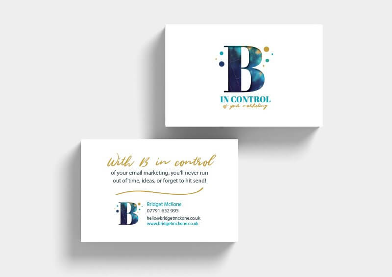 B in Control Business Cards