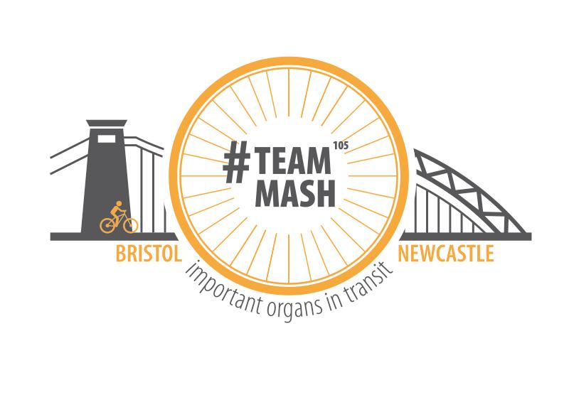 TeamMash Bristol to Newcastle Bike Ride