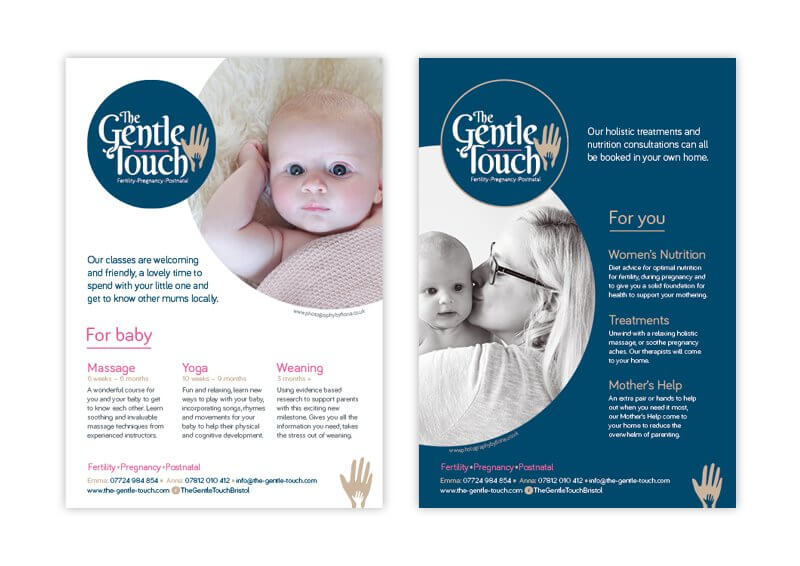 The Gentle Touch Flyer